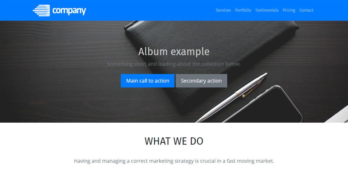 Simple Corporate Theme