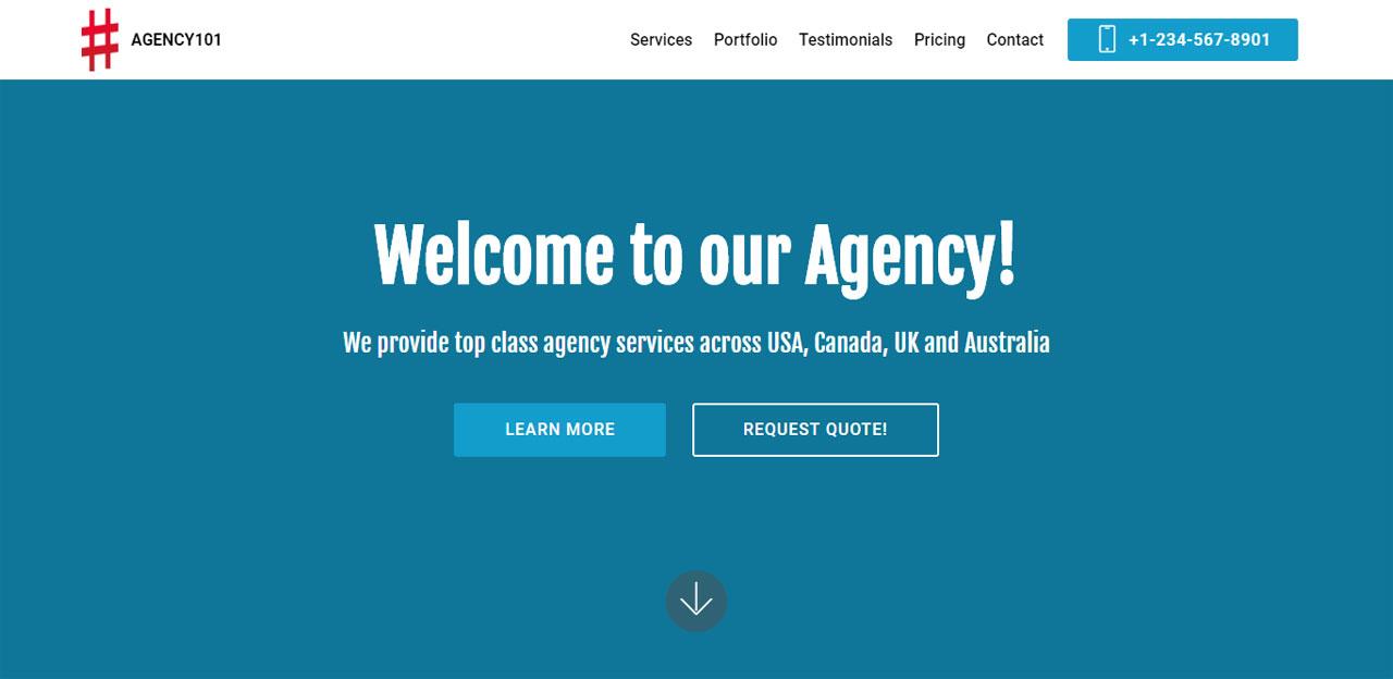 Agency 101 Theme