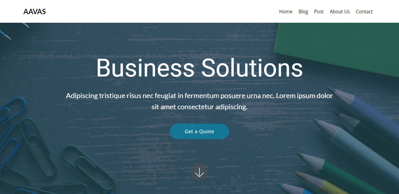 Aavas an Agency Theme