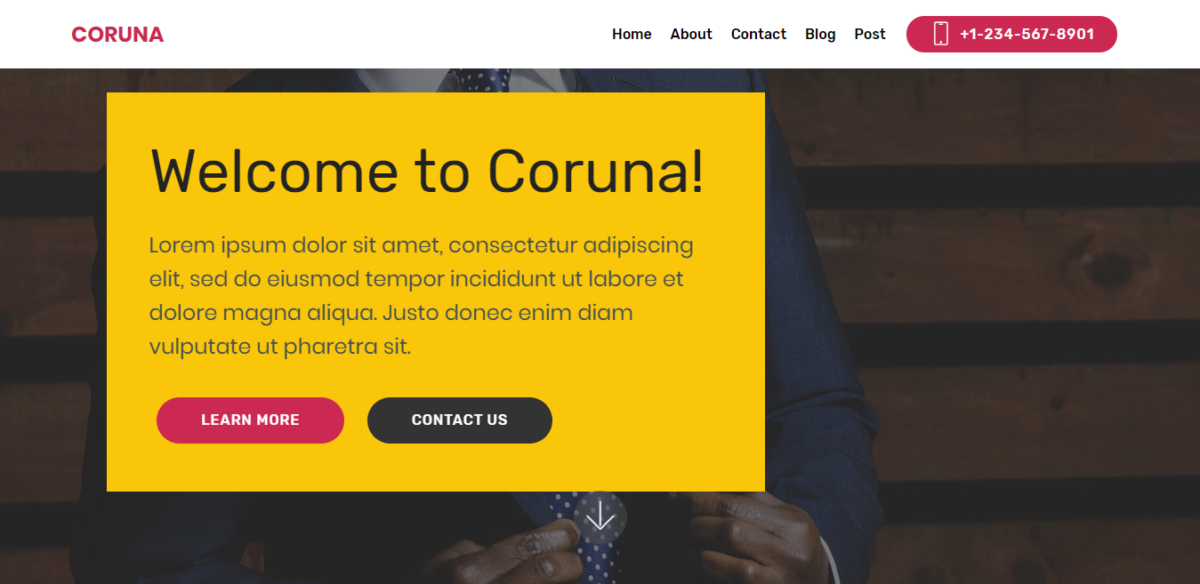 Coruna – Bootstrap Corporate Theme