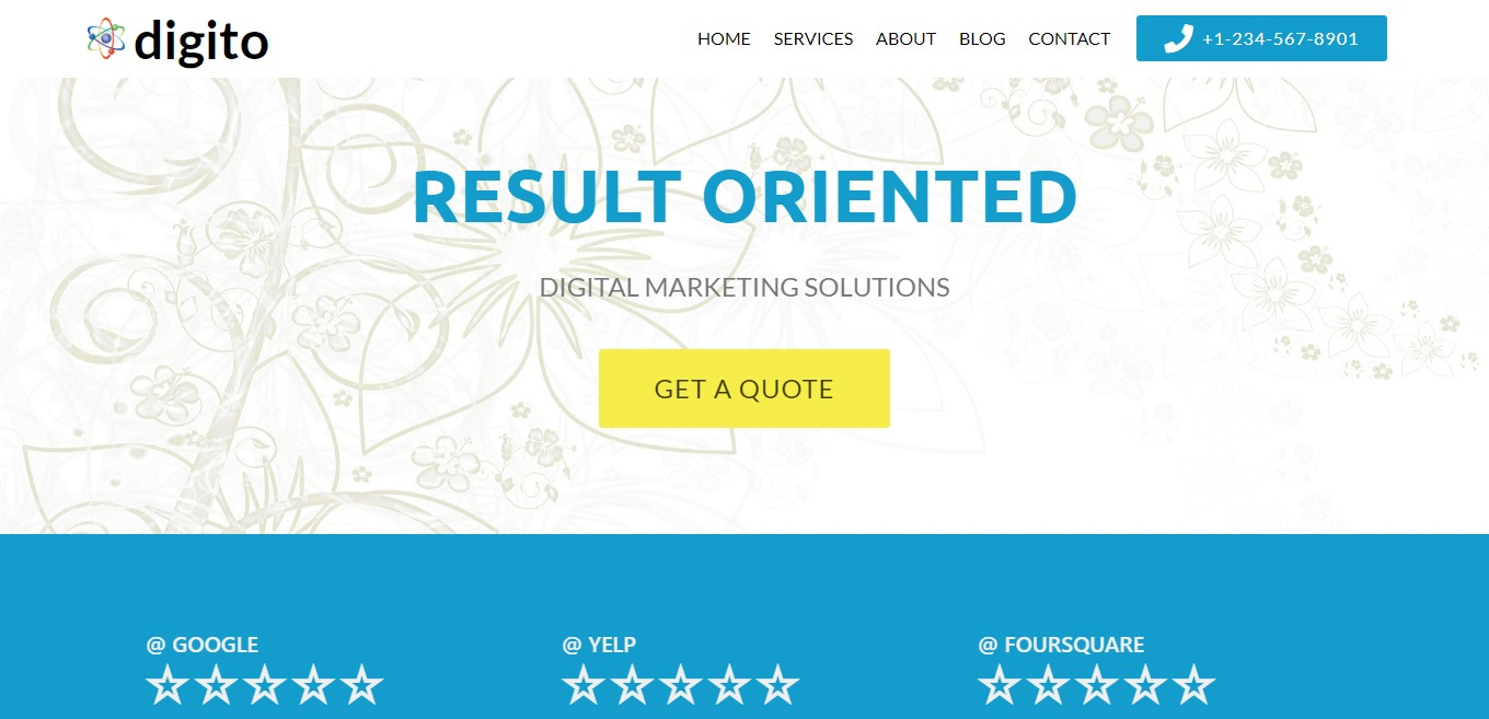 Digito – Bootstrap Marketing Agency Theme