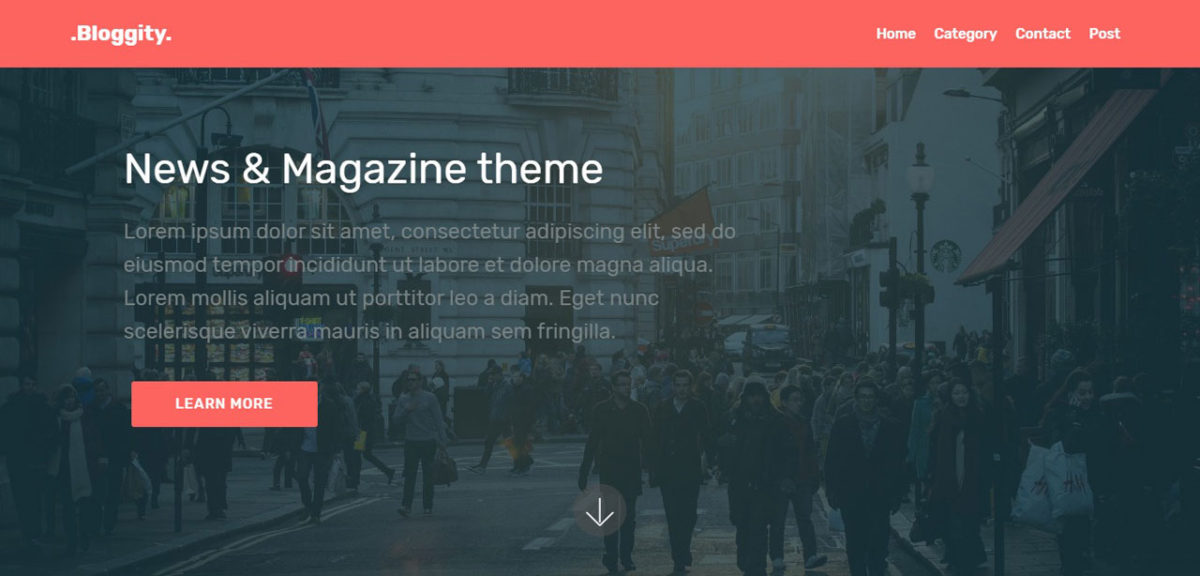 Bloggity – News & Magazine Theme