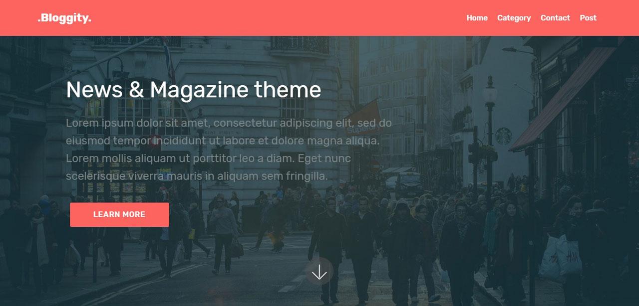 Bloggity – News & Magazine Theme