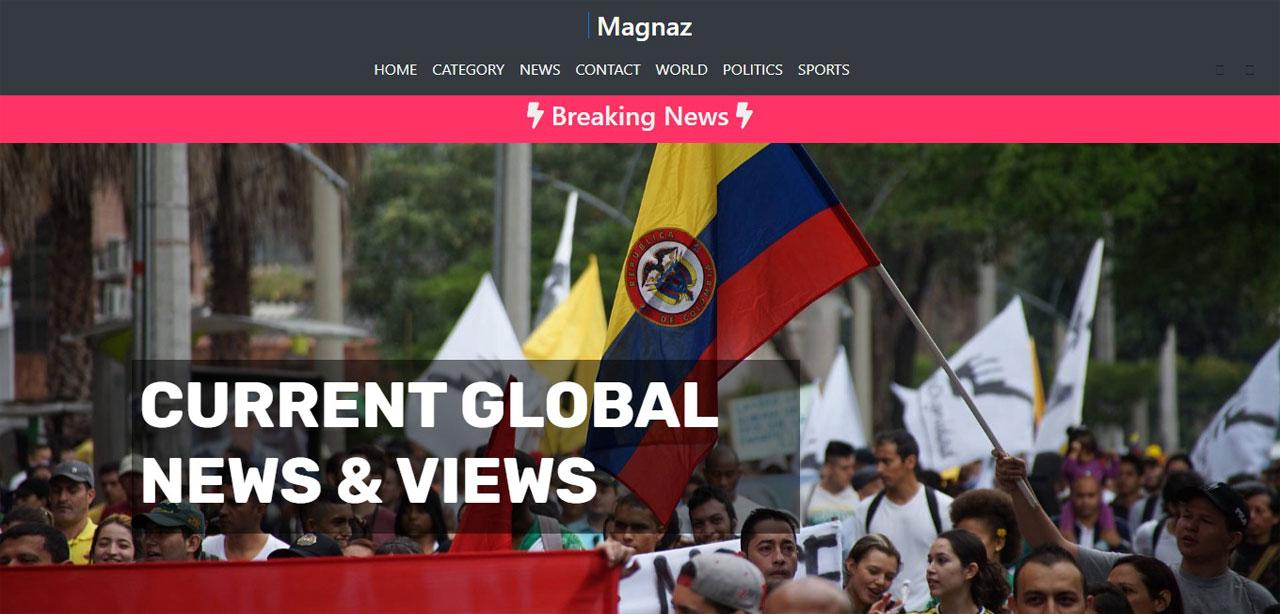 Magnaz – News Magazine Theme